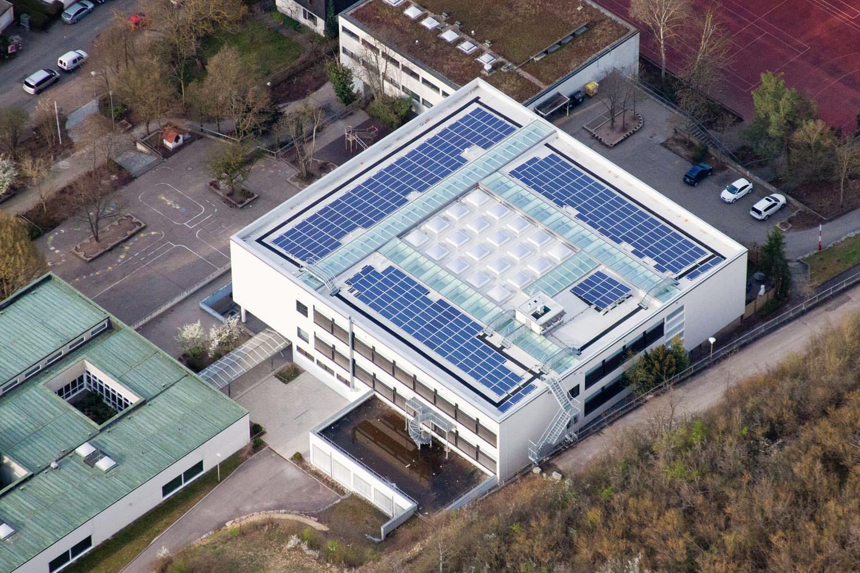 Solaranlage in Leonberg (2010), August-Lämmle-Schule