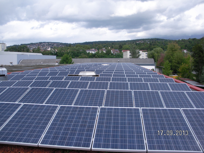 Photovoltaikanlage in Esslingen