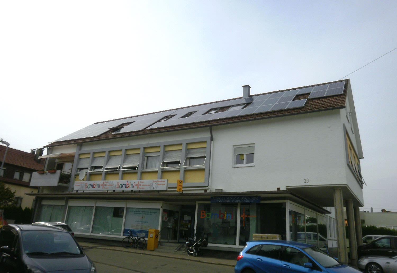 Solaranlage in Gärtringen