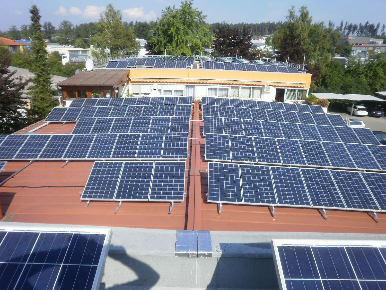 Photovoltaik-Projekt in Althengstett