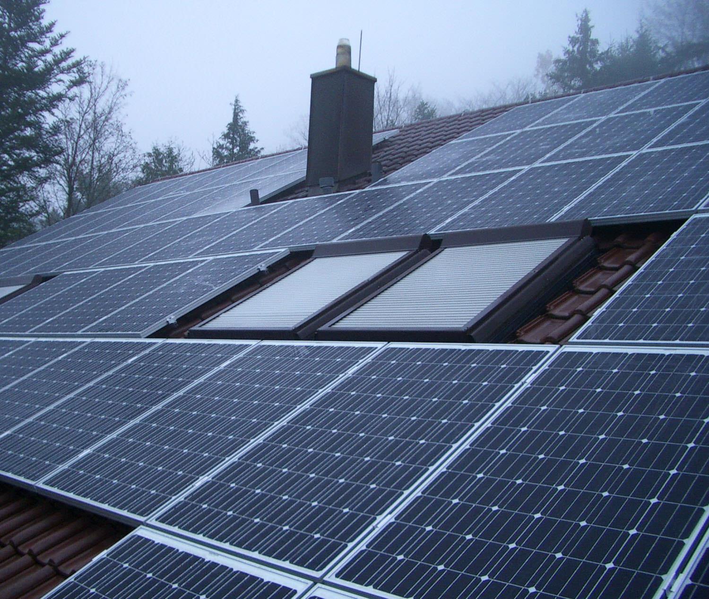 Solaranlage in Leonberg (2013), Wohnhaus