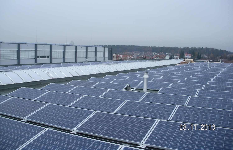Photovoltaik-Projekt in Steinenbronn