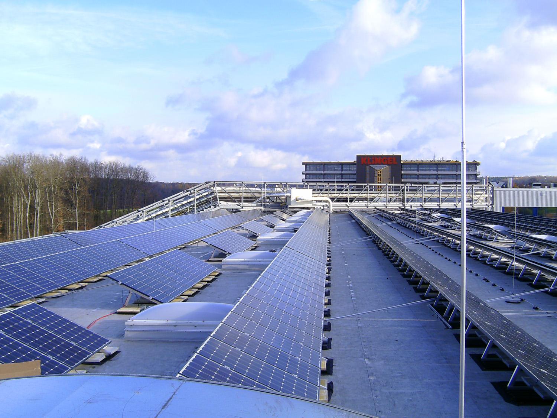 Photovoltaikanlage in Pforzheim (2008)