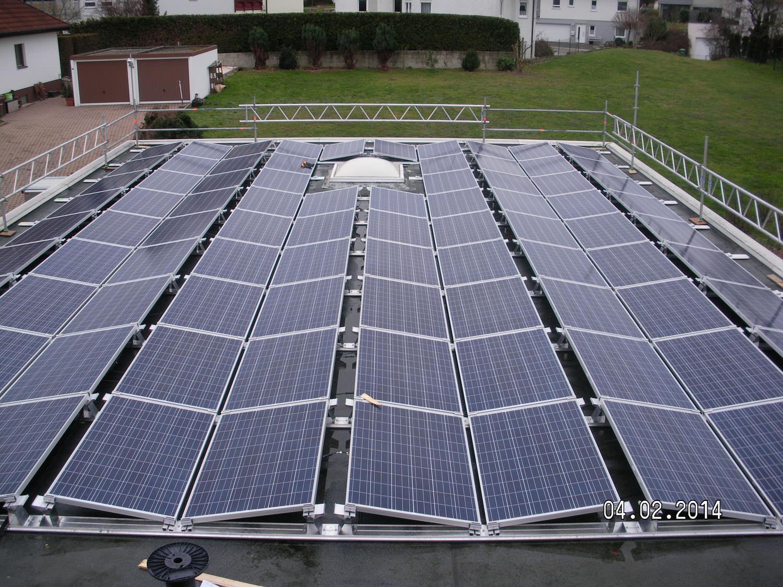 Solaranlage in Wiernsheim (2014)