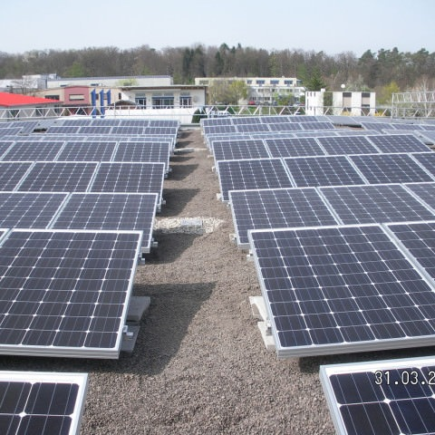 Photovoltaikanlage in Pliezhausen (2014)