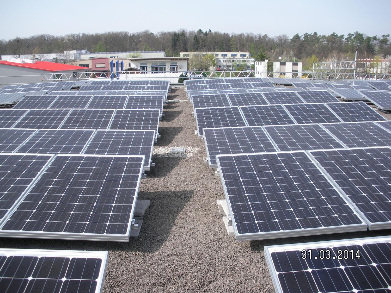 Photovoltaikanlage in Pliezhausen (2014)