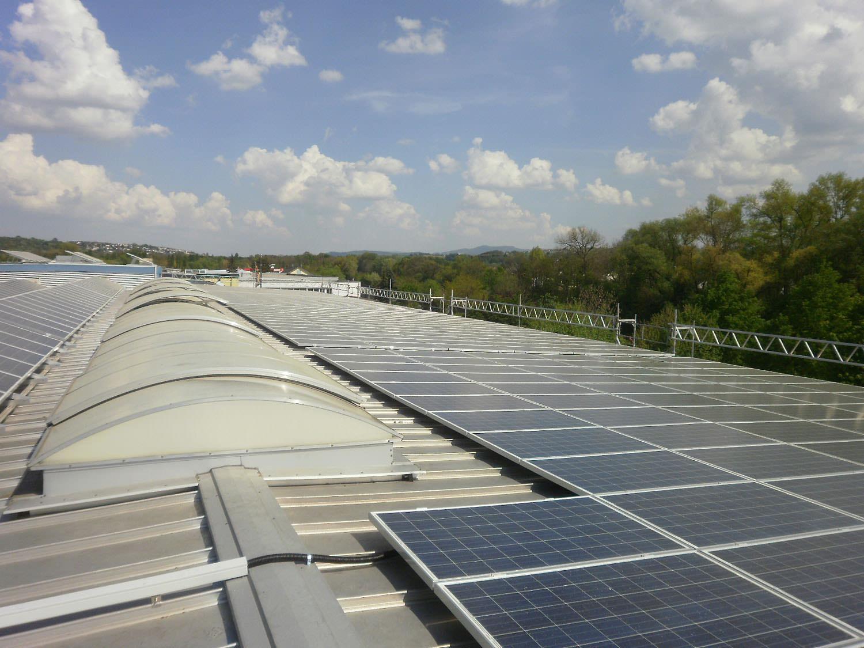 Photovoltaik-Projekt in Neckartailfingen (2014)