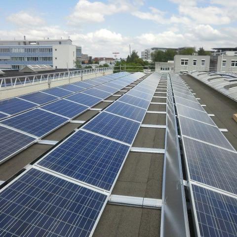 Photovoltaikanlage in Pforzheim (2014)