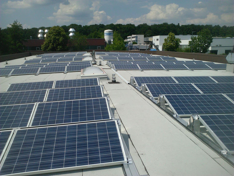 Photovoltaik-Projekt in Pliezhausen (2014)