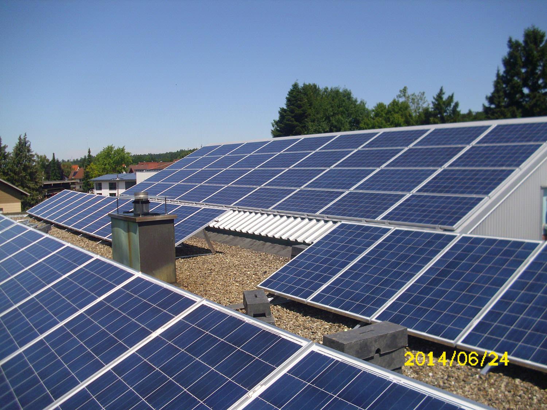 Photovoltaikanlage in Engelsbrand (2014)