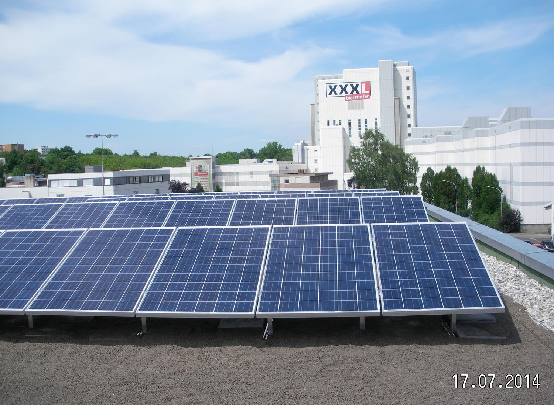 Photovoltaik-Projekt in Heilbronn (2014)