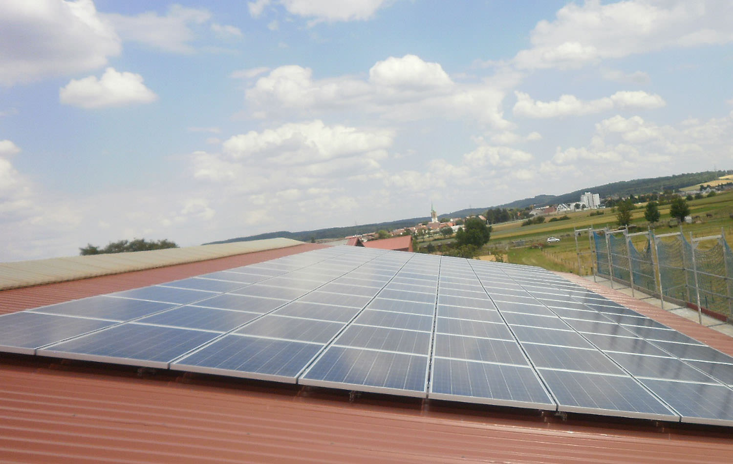 Solaranlage in Renningen-Malmsheim (2014)