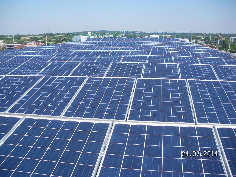 Solarkraftwerk in Waiblingen (2014)