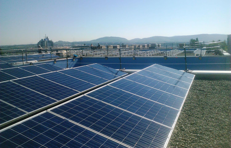 Solaranlage in Waiblingen (2014)