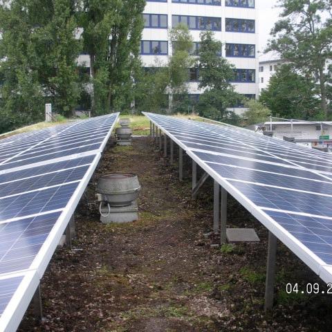 Photovoltaikanlage in Stuttgart (2014)