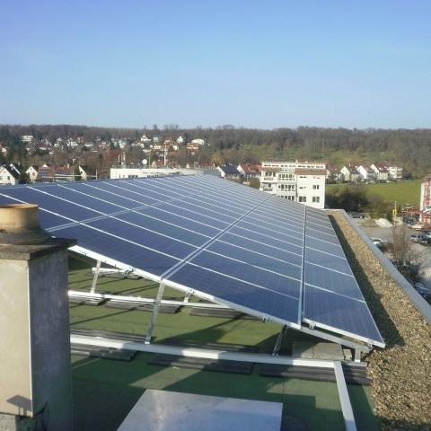 Solarkraftwerk in Korntal-Münchingen (2014)