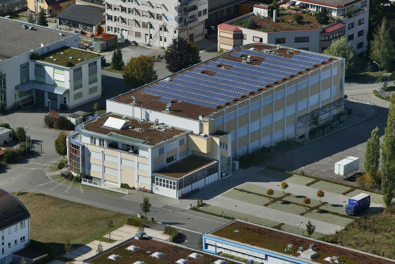 Photovoltaik-Projekt in Steinenbronn (2007)