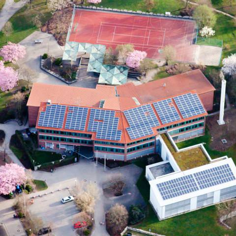 Solaranlage in Leonberg (2009), Ostertag-Realschule