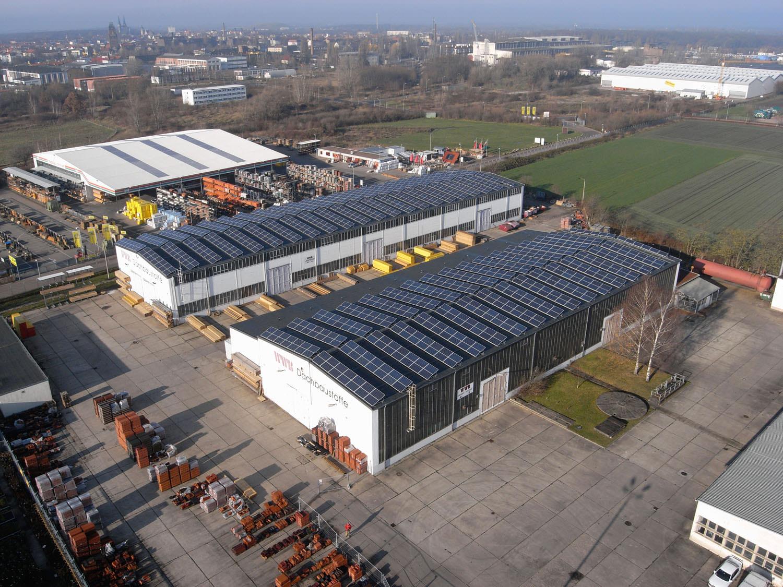 Solarkraftwerk in Köthen (2010)