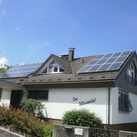 Solaranlage in Weil der Stadt (2012), Wohnhaus