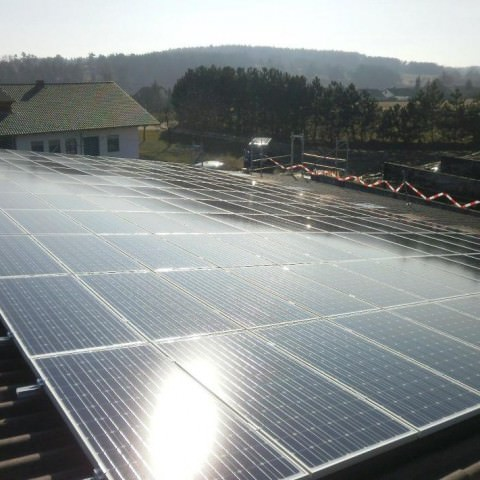 Solarstromanlage in Aidlingen (2012)