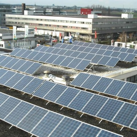 Photovoltaikanlage in Leinfelden (2010)