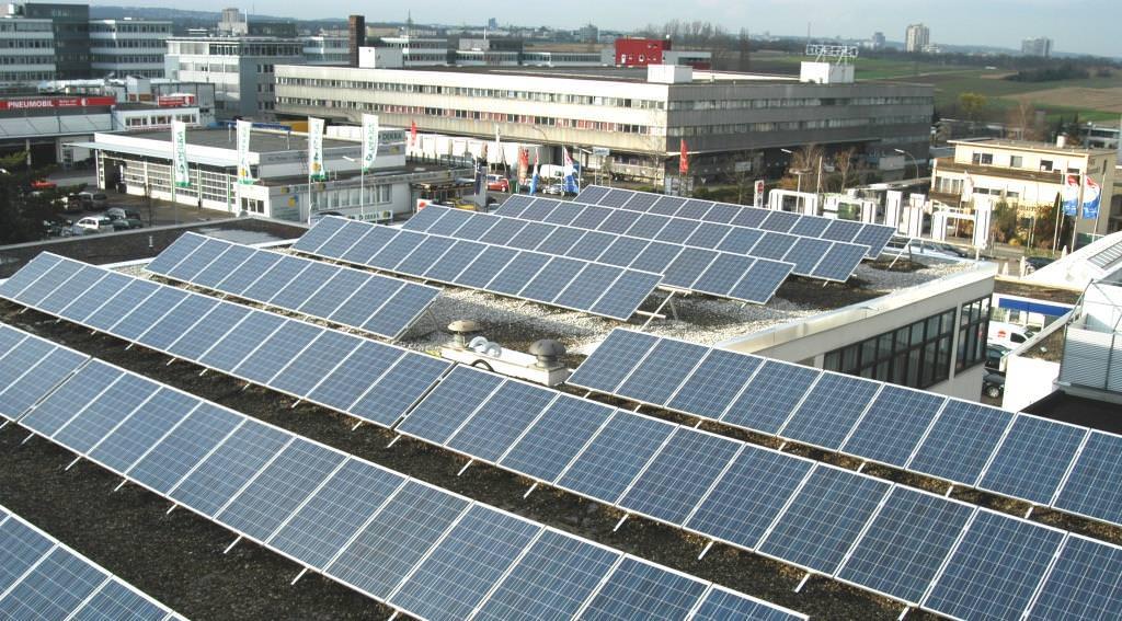 Photovoltaikanlage in Leinfelden (2010)