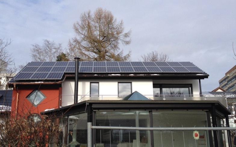Solarstromanlage in Stuttgart (2015), Wohnhaus