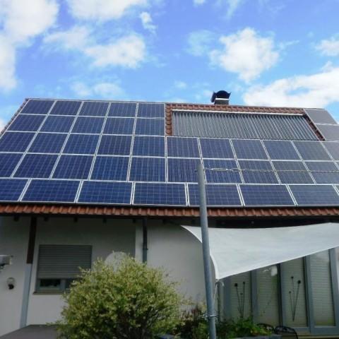 Solarstromanlage in Neulingen (2013)