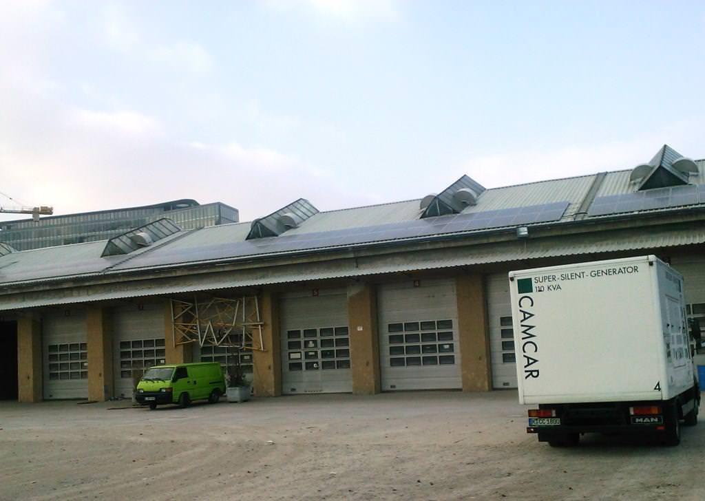Photovoltaikanlage in Stuttgart (2011), Wagenhallen