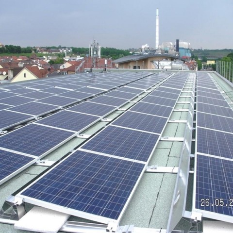 Photovoltaikanlage in Stuttgart-Bad Cannstatt (2015)