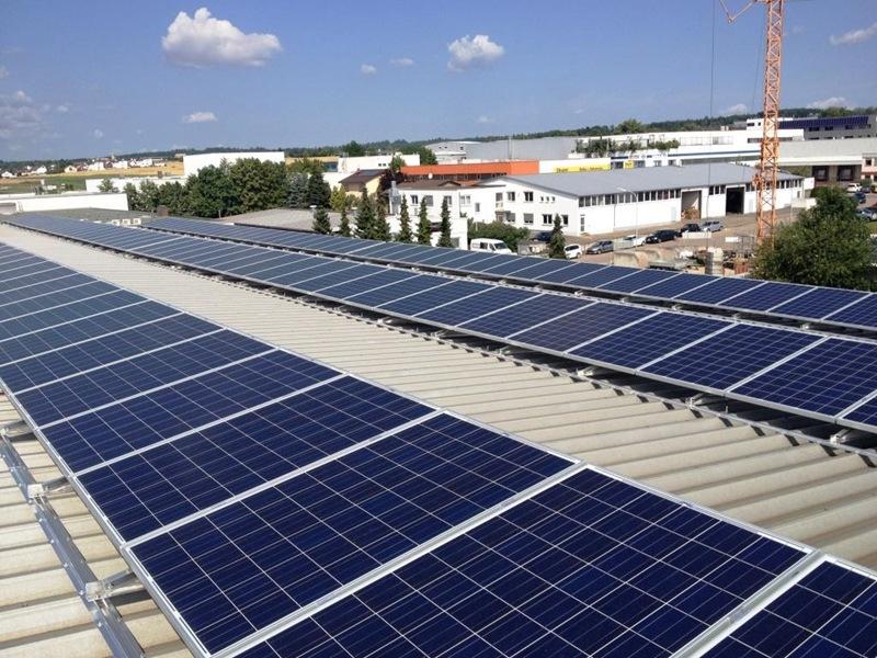 Photovoltaikanlage in Renningen (2015)