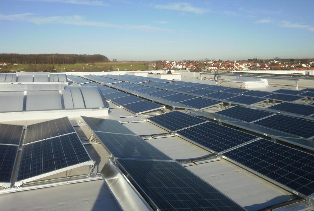 Photovoltaikanlage Zell