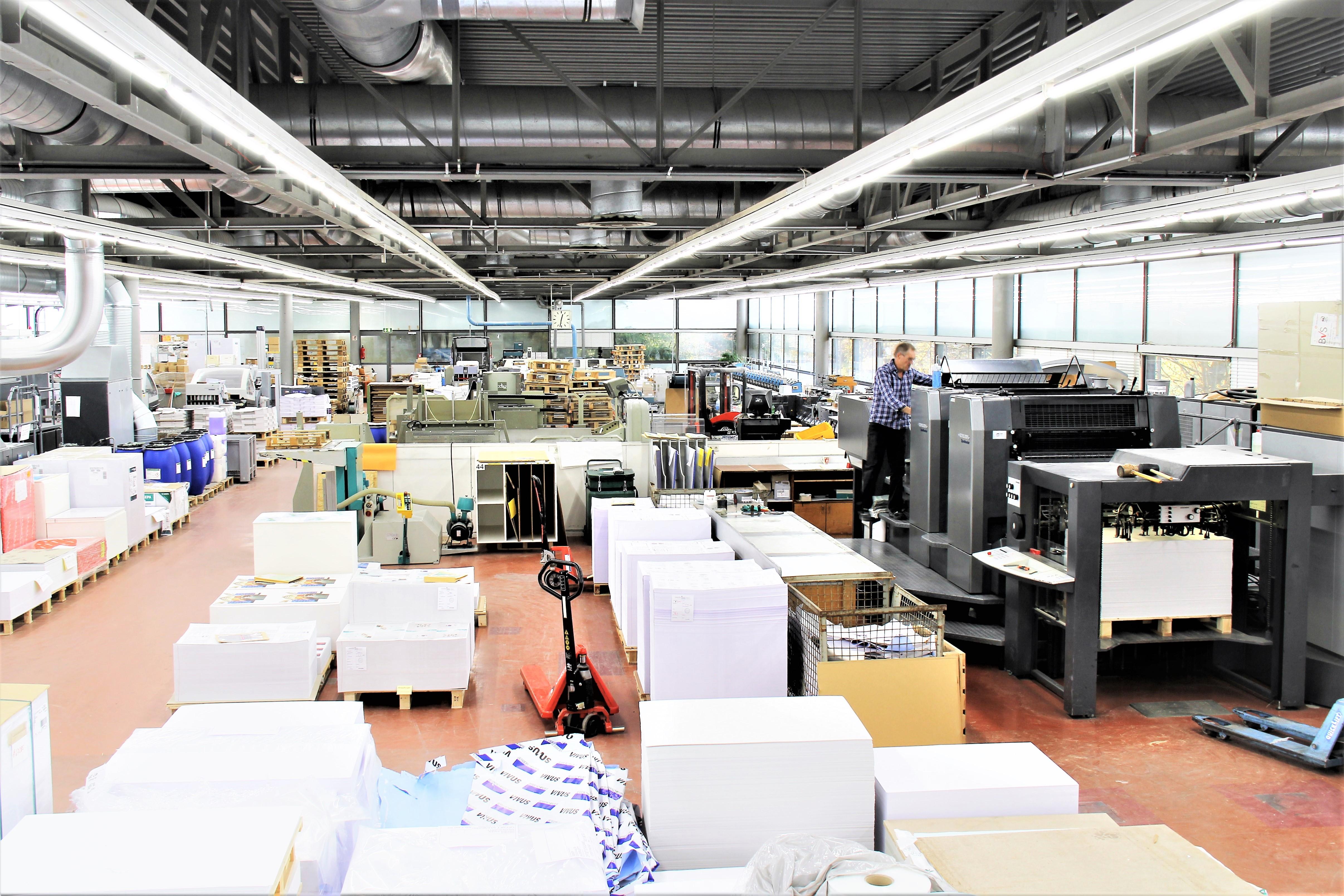 Druckerei in Schönaich